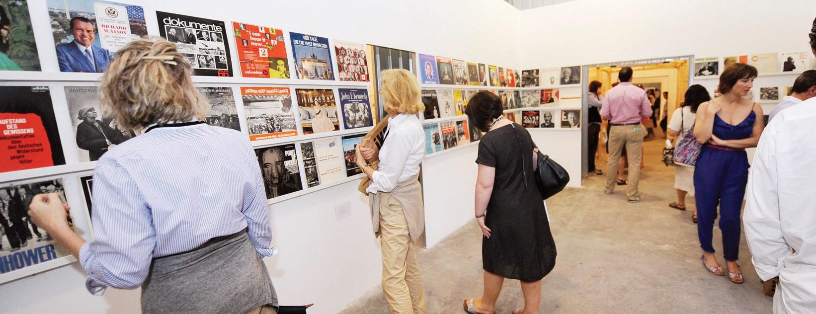 İstanbul Bienali, uluslararası sanat takvimi