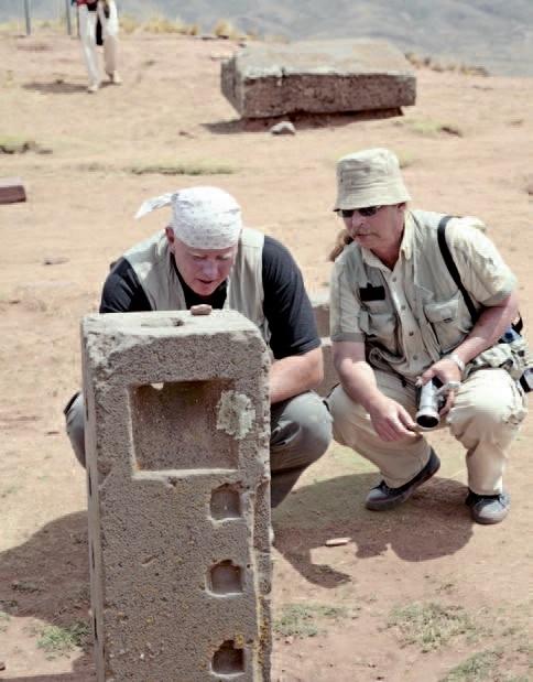 Bolivya'da İnka öncesi kültüre ait harabelerin bulunduğu Tiwanako kenti