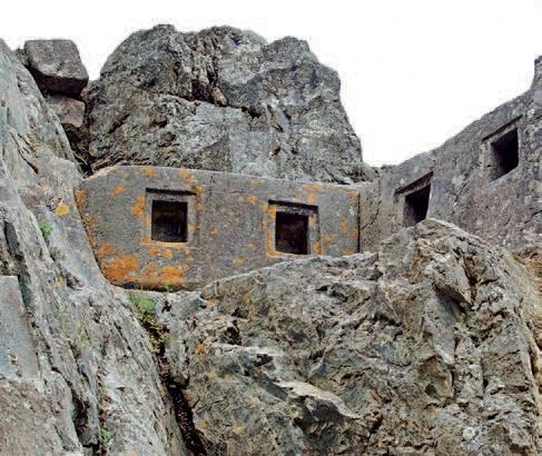 Peru'daki Ollaytaytambo antik kenti