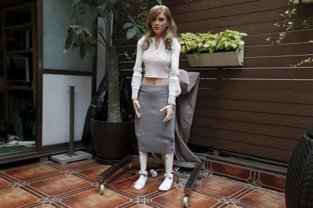 kadın robot