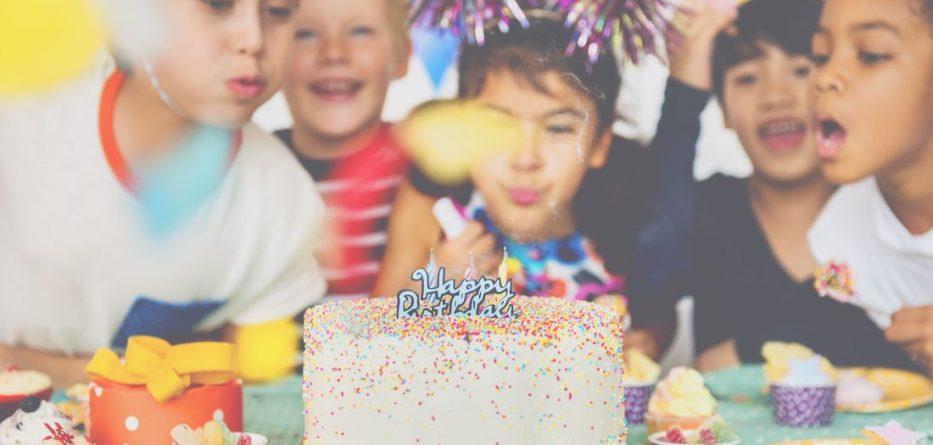 Çocuğunuzun doğum günü partisi