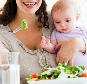 Yeni anneler için en iyi yiyecekler