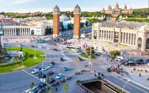 Barcelona şehri güzelleştiren mimariler