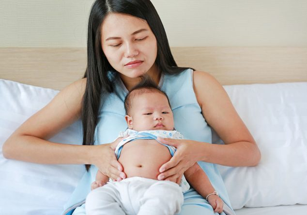 Bebeğinizin gaz sancısını gidermek için