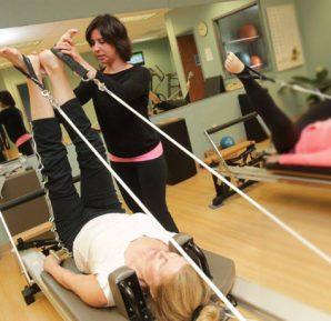 Hamilelik döneminde aletli pilates hareketleri