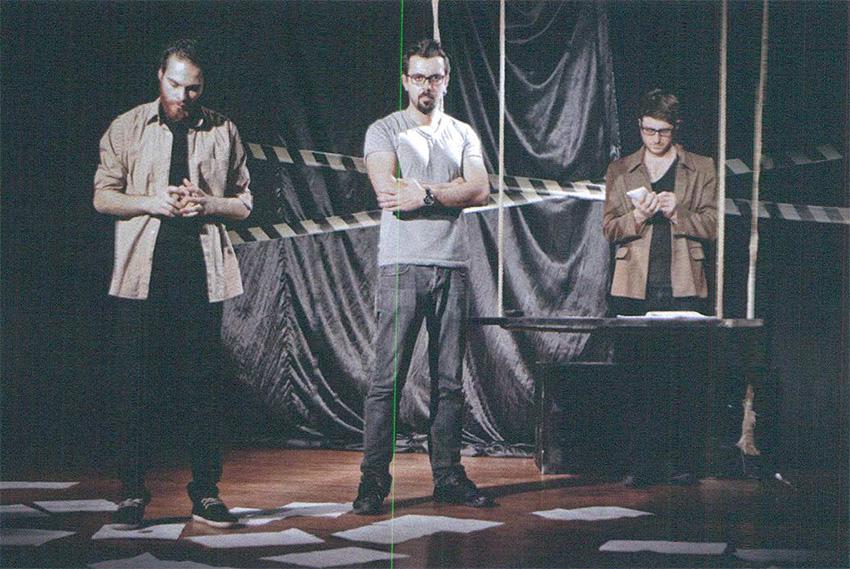 Olağan Masallar Tiyatrosu Mavi isimli oyunuyla sahnede