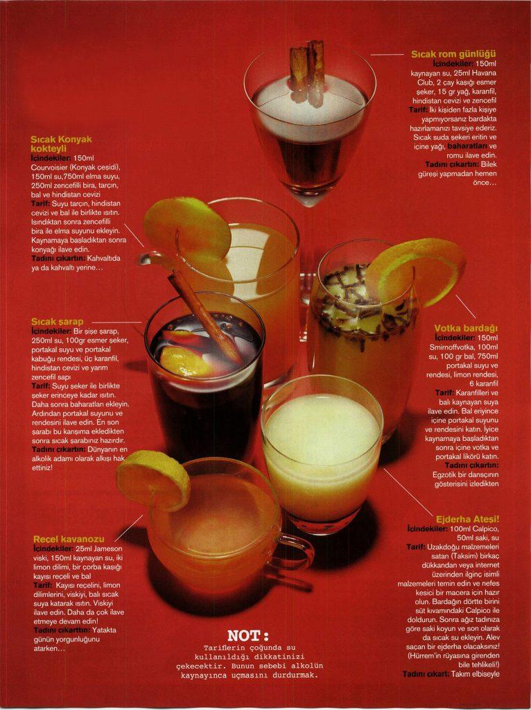 Sıcak kokteyller nasıl yapılır yapılışı