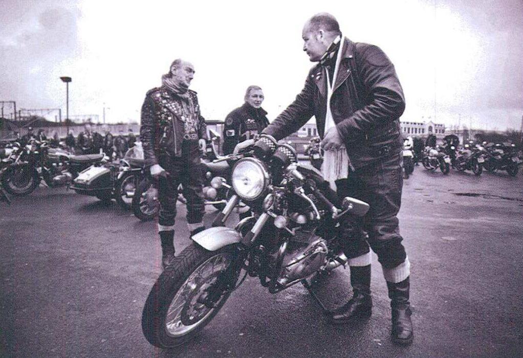 Sankofa Coffee Shop Cafe Racer motorcular 1