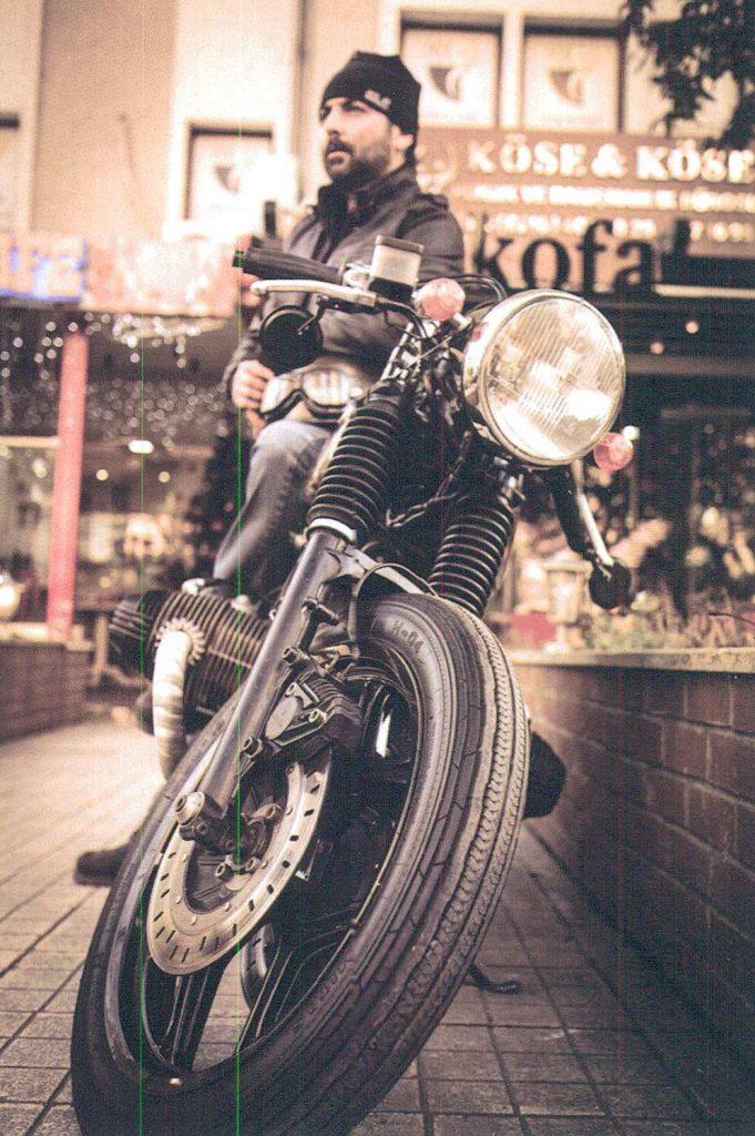 Sankofa Coffee Shop Cafe Racer motorcular 2