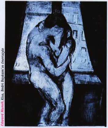 Edward Munch Kiss