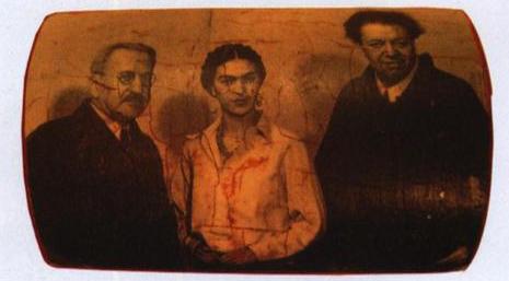 Frida Kahlo – Troçki