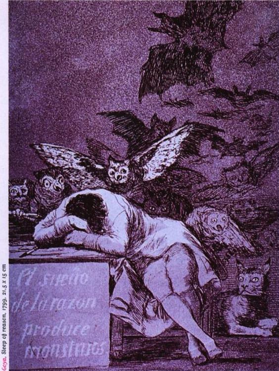 Goya-Sleep of reason