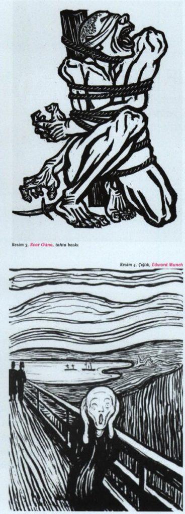 Roar China Tahta Baskı – Çığlık Edward Munch