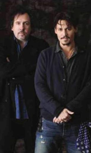 Tim Burton ve Johnny Depp