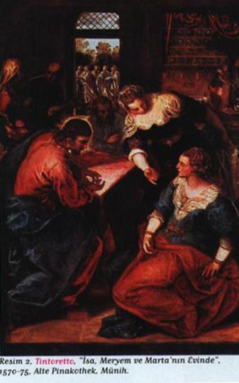 Tintoretto (İsa Meryem ve Marta