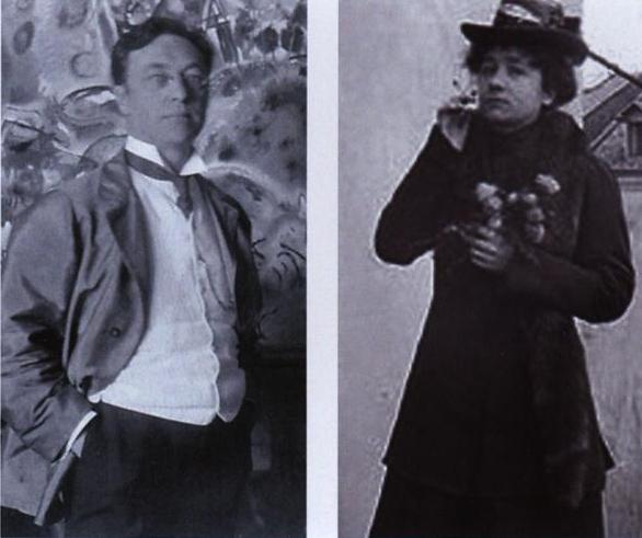 Wassily Kandinsky – Gabriele Münter