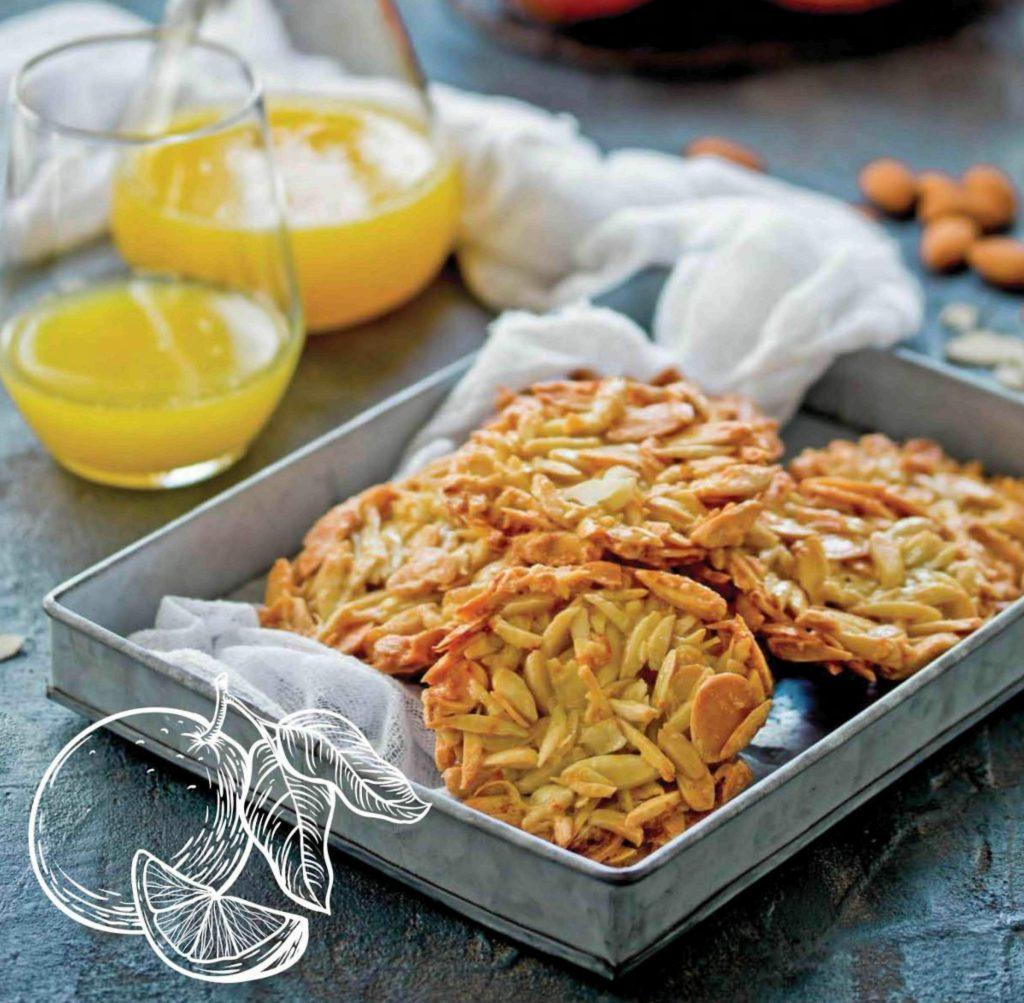 bademli portakallı kurabiye