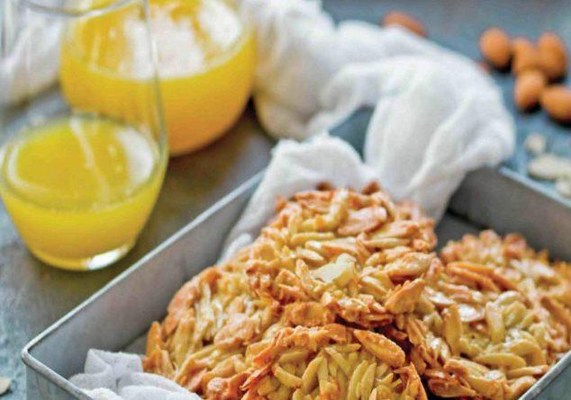 bademli portakallı kurabiye tarifi