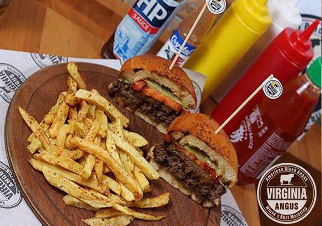 Butik Hamburgerin Zirvesi Virginia Angus