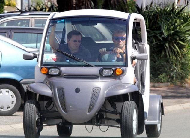 Roman Abramoviç ve elektrikli otomobili