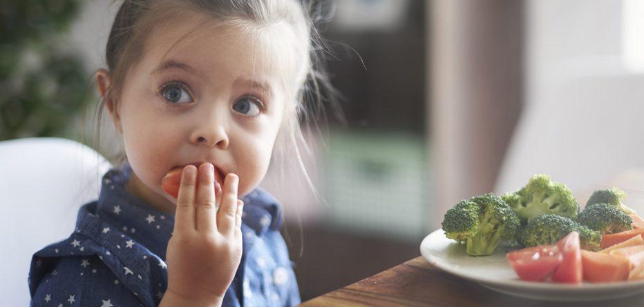 Çocuklarda doğru beslenme alışkanlıkları