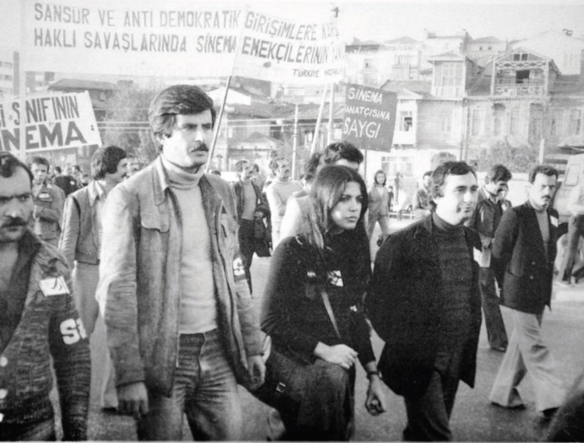 1977%u2019de-yapılan-sinema-emekçilerinin-Ankara%u2019ya-yürüdüğü-eylem