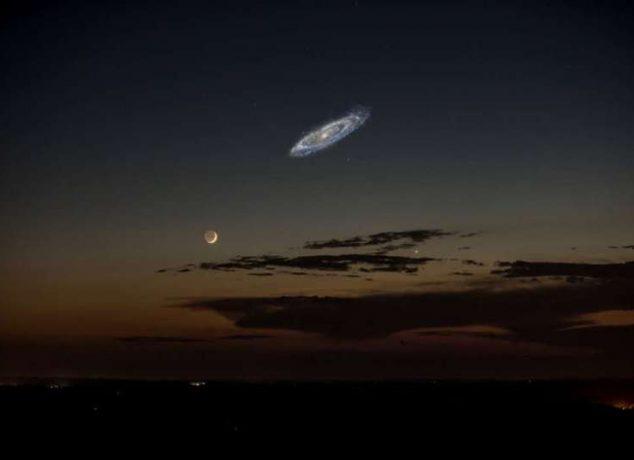Andromeda galaksi