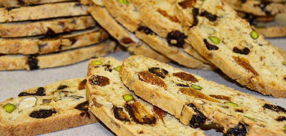 Kuru Yemişli Biscotti