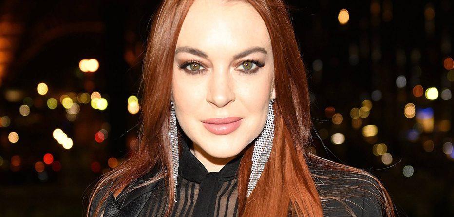 En şeffaf milletvekili adayı Lindsay Lohan