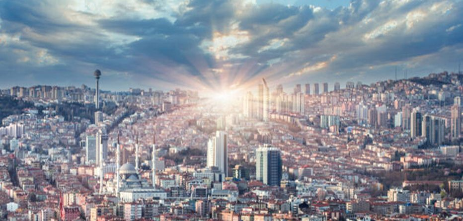 Tozlu Kasabadan Modern Başkent Ankara