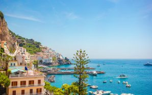 Amalfi sahilleri