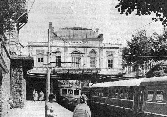 Göztepe tren istasyonu
