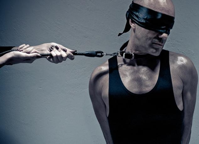 Geçenlerde sevgilimle eve bir köle çağırdık