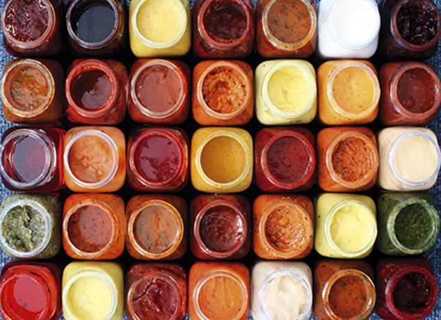 Mayonez, ketçap, hollandaise, pesto, soya, teriyaki, hatta yoğurt