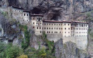 Ortodoks Kutsal Merkezlerinden Sümela Manastırı