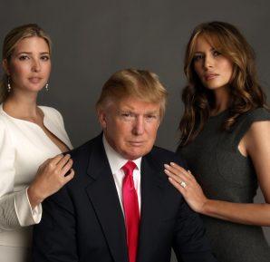 Donald Trump ve güzel eşi