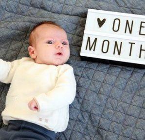 1 Aylık Bebeğimin Gelişimi