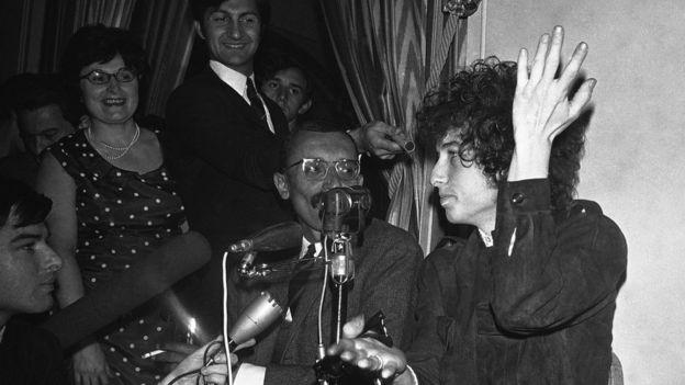 Дилан в 1966 году